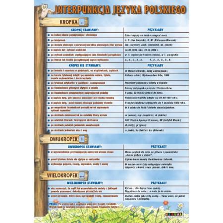 Język Polski Plansze Edukacyjne Szkoła Marzeń