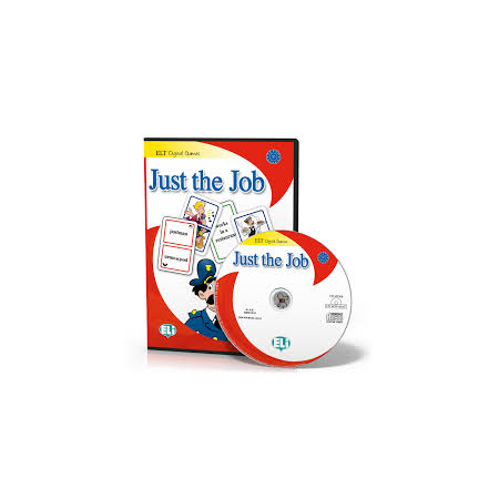 Gra językowa Just the Job CD ROM