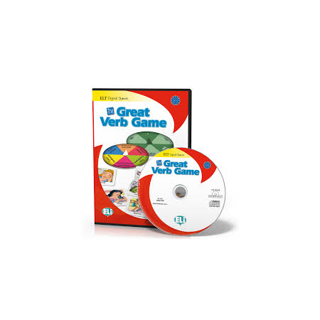 Gra językowa The Great Verb Game CD ROM