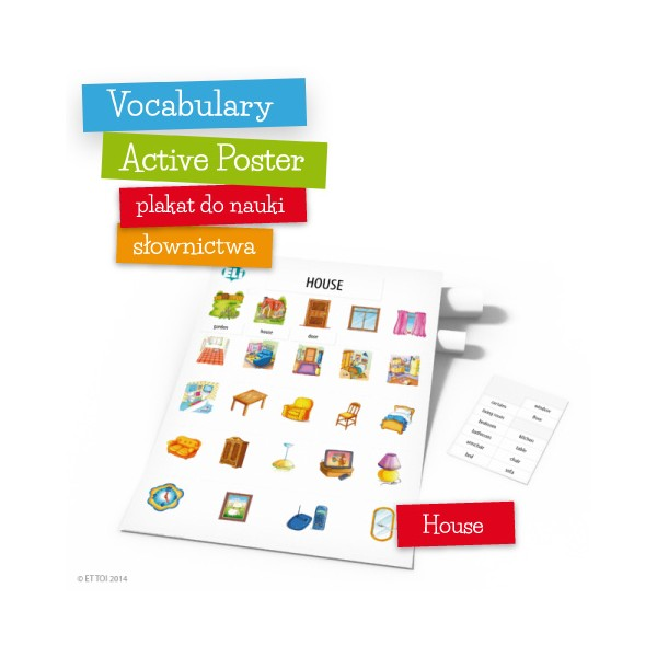Vocabulary Active Poster House